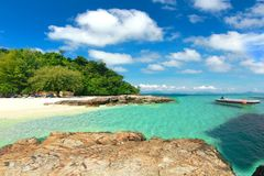 The paradise island in trang thailand. Paradise island in trang thailand Royalty Free Stock Photos