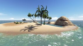 Paradise Island Royalty Free Stock Photo