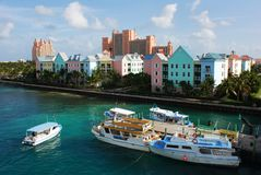 Paradise Island Water Taxi Stock Images