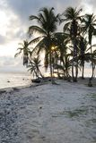 Paradise Islands in Guna Yala, Kuna Yala, San Blas, Panama. Sunset. Sunrise. Paradise islands in Guna Yala, Kuna Yala, San Blas, Panama. Beautiful wallpaper of stock images