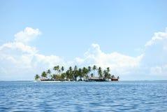 Paradise Islands in Guna Yala, Kuna Yala, San Blas, Panama. Sunset. Sunrise. Paradise islands in Guna Yala, Kuna Yala, San Blas, Panama. Sunrise. Sunset. Palms stock images