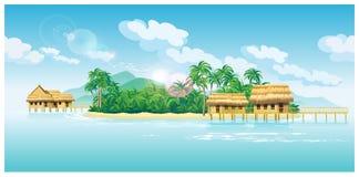 Paradise islands Stock Photography