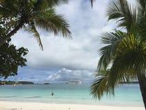 Paradise. Isle of pines, New Caledonia Stock Photography