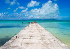 Paradise jetty, Japan Stock Image