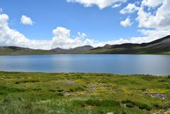 PARADISE LAKE royalty free stock photos