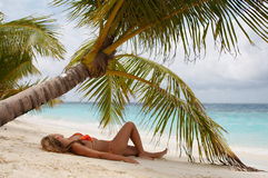 Paradise! Maldives. Royalty Free Stock Images