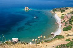 Paradise marine in Greece Stock Images
