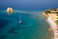 Paradise marine in Greece Royalty Free Stock Photo
