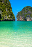 Paradise in Maya Bay, Thailand Royalty Free Stock Images