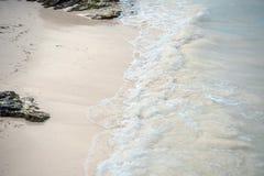 Paradise natur, sommar på den tropiska stranden royaltyfri fotografi