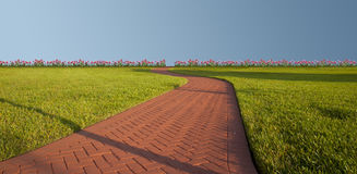 Paradise Nature Pathway Royalty Free Stock Image