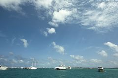 Paradise ocean of Republic of Maldives Royalty Free Stock Photography