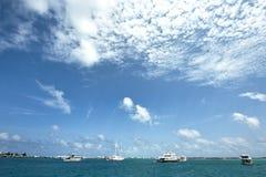 Paradise ocean of Republic of Maldives Stock Image