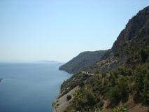 Paradise para veraneantes dá um positivo fotos de stock royalty free