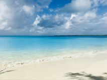 Paradise. In the Bahamas Royalty Free Stock Image