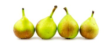 Paradise pears isolated Stock Photos