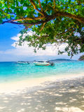 A paradise with perfect crystal clear sea, Similan islands Stock Photos