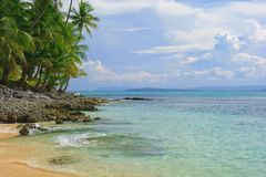 Paradise in the Philippines Royalty Free Stock Photos
