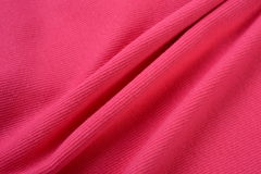 Paradise pink cloth made by cotton fiber Royalty Free Stock Photography