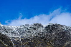 Paradise places in New Zealand / Mount Cook National Park Royalty Free Stock Images