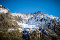 Paradise places in New Zealand / Mount Cook National Park Stock Photography