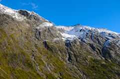 Paradise places in New Zealand / Mount Cook National Park Royalty Free Stock Photo