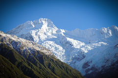 Paradise places in New Zealand / Mount Cook National Park. Aoraki/Mount Cook National Park is in the South Island of  Zealand, near the town of Twizel. Aoraki / Royalty Free Stock Image