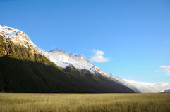 Paradise places in New Zealand / Mount Cook National Park. Aoraki/Mount Cook National Park is in the South Island of  Zealand, near the town of Twizel. Aoraki / Royalty Free Stock Photo