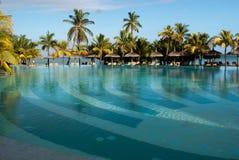 Paradise pool mauritius Stock Image