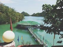 Paradise resort Stock Photo