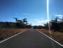 paradise road zdjęcie royalty free