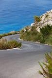 Paradise Road till royaltyfri fotografi