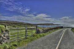 Paradise Road till Arkivbild