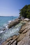 Paradise rocky beach at Koh Adang, South Thailand Stock Image