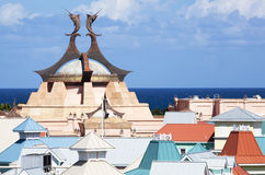 Paradise Roofs Stock Images