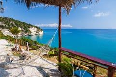 Paradise sea view bar Stock Photography