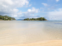 Paradise in the Seychelles Royalty Free Stock Photography