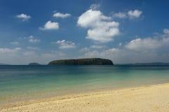 Paradise-strand bij het Eiland van Andaman en Nicobar-, India royalty-vrije stock foto's