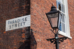 Paradise Street Stock Photography