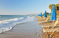 Paradise Beach In Cyprus Stock Image