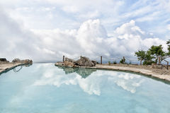 Paradise swimming pool Stock Images