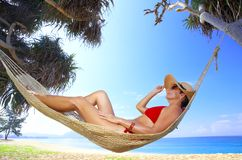 Paradise swing Royalty Free Stock Images