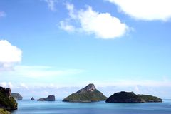 Paradise - Thailand. Ang Thong Marine Park in Southern Thailand Royalty Free Stock Photography