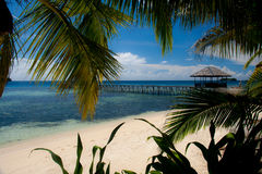 Paradise on the Togean Islands Royalty Free Stock Images