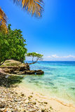 Paradise tropical beach Royalty Free Stock Photography