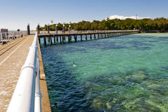Paradise tropical Island. Queensland, Australia Royalty Free Stock Image