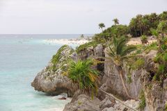 Paradise in Tulum Royalty Free Stock Photography