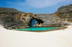 Paradise water hole Royalty Free Stock Image