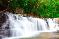 Paradise Waterfall Royalty Free Stock Photo