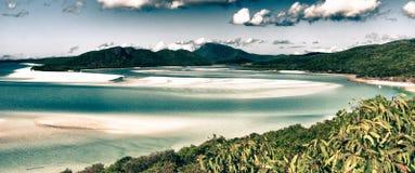 Paradise of Whitsunday Islands National Park Royalty Free Stock Image